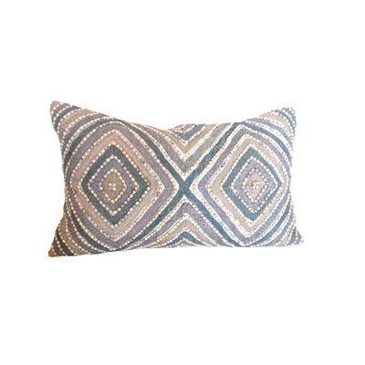 Sea Side Geometric Bead Throw Pillow