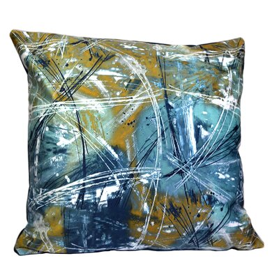 Mirasol The Universe Feather Throw Pillow (Set of 2)