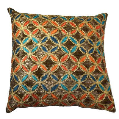 Mirasol Geometric Feather Throw Pillow (Set of 2)