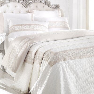 City Sleep Lotus 7 Piece Queen Duvet Cover Set