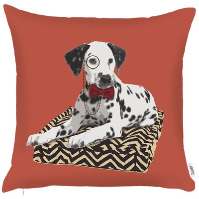 Costal Exquisite Damnation Dog Throw Pillow