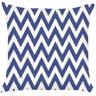Costal Zigzag Throw Pillow