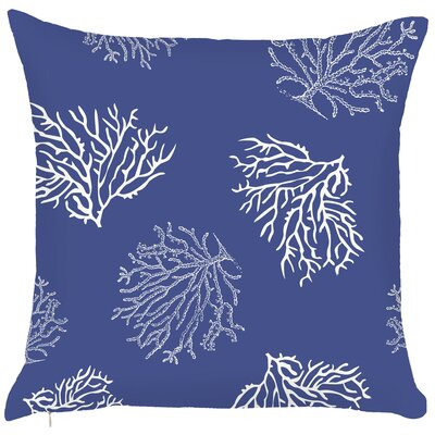 Costal Reefs Throw Pillow