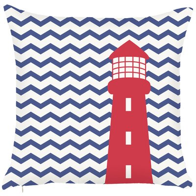 Costal Exquisite Light House Throw Pillow