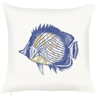 Costal Fish Throw Pillow