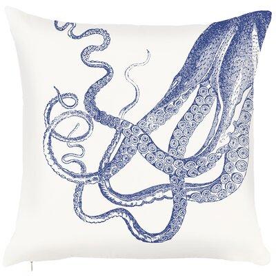 Costal Octopus Throw Pillow