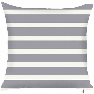 Spring Two Toned Throw Pillow (Set of 2) Color: Gray