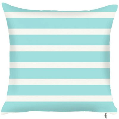 Spring Two Toned Throw Pillow (Set of 2) Color: Turquoise