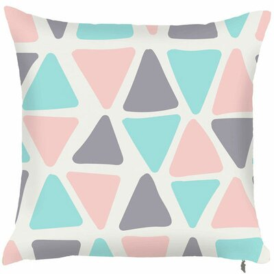 Spring Triangle Throw Pillow (Set of 2)