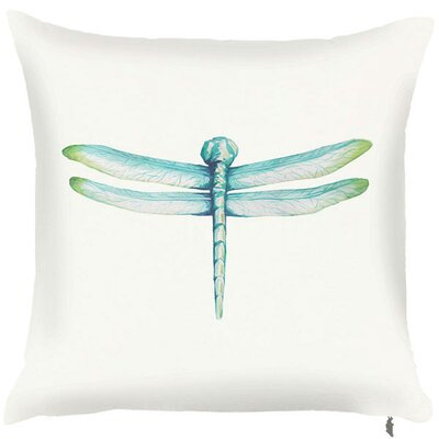 Spring Dragonfly Throw Pillow (Set of 2)