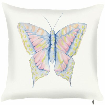 Spring Butterfly Throw Pillow (Set of 2)