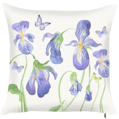 Spring Hibiscus Throw Pillow (Set of 2)