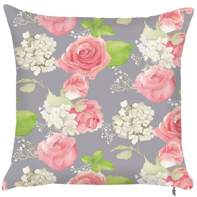 Spring Rose Throw Pillow (Set of 2)