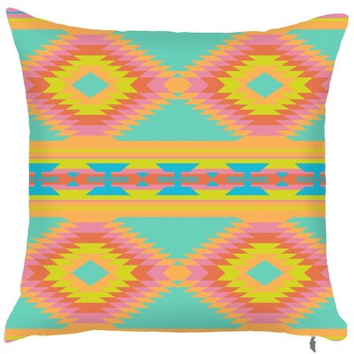 Spring Tribal Throw Pillow (Set of 2)