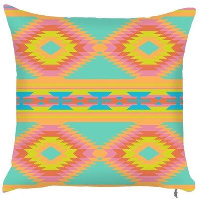 Spring Tribal Throw Pillow (Set of 2)