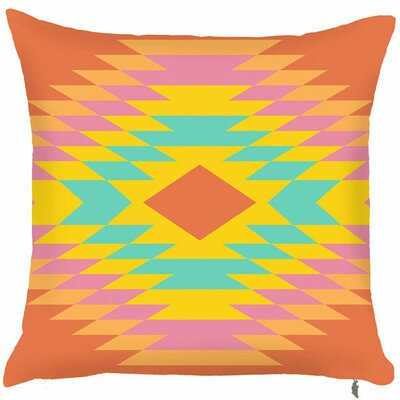 Spring Aztec Diamond Throw Pillow (Set of 2)