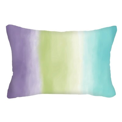 Spring Blended Three Tone Lumbar Pillow (Set of 2)