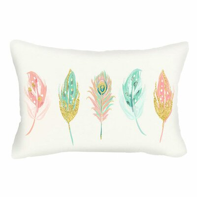Spring Five Feathered Lumbar Pillow (Set of 2)