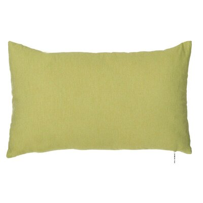 Spring Single Tone Lumbar Pillow (Set of 2) Color: Olive