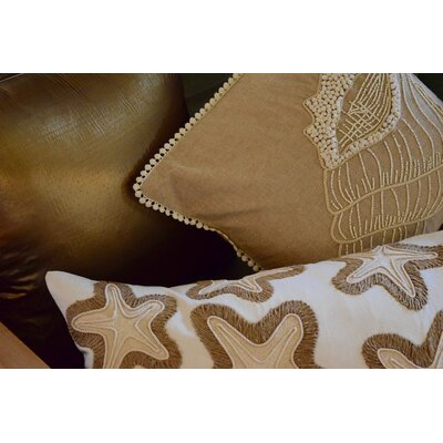 Spring Silk Jacquard Throw Pillow (Set of 2) Color: Gold