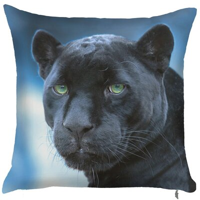 Octavio Panther Throw Pillow (Set of 2)