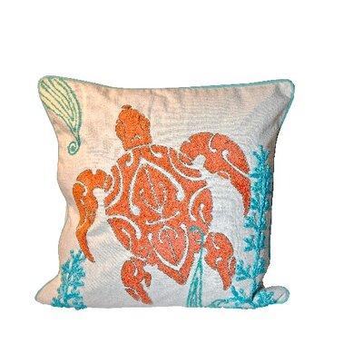 Sabbattus Turtle 100% Cotton Throw Pillow