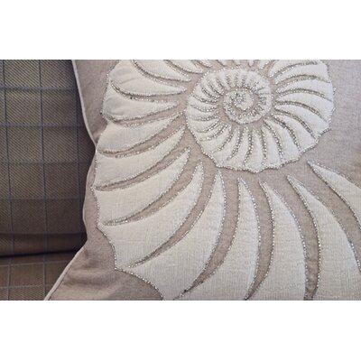 Houlton Big Snail 100% Cotton Throw Pillow