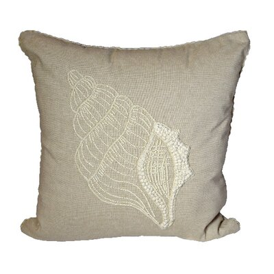 Costigan Shell 100% Cotton Throw Pillow
