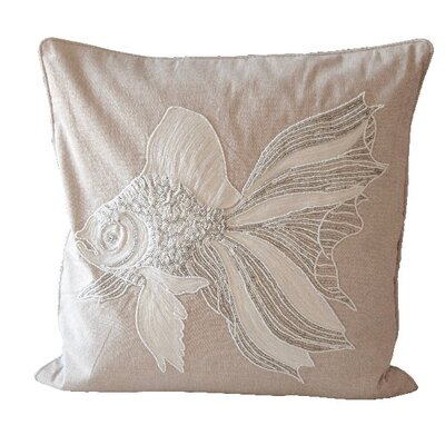 Bartett Fish 100% Cotton Throw Pillow
