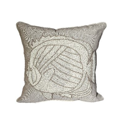 Guillemot Batik Fish 100% Cotton Throw Pillow