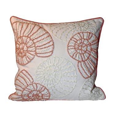 Searsport Snail 100% Cotton Throw Pillow