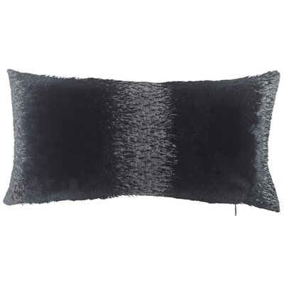 Abbate Two Tone Lumbar Pillow (Set of 2) Color: Gray