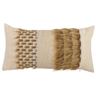 Whipple Three Line Lumbar Pillow (Set of 2) Color: Brown