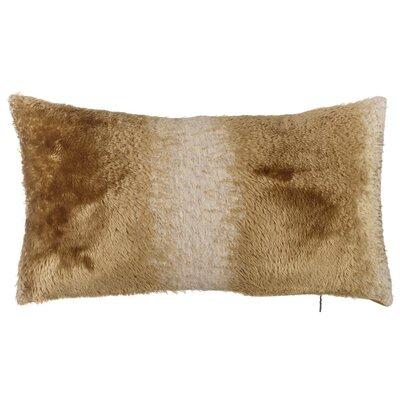 Abbate Two Tone Lumbar Pillow (Set of 2) Color: Brown