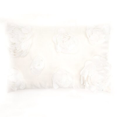 Soft Flower Throw Pillow