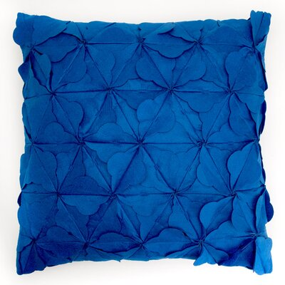 Textured Flower Throw Pillow