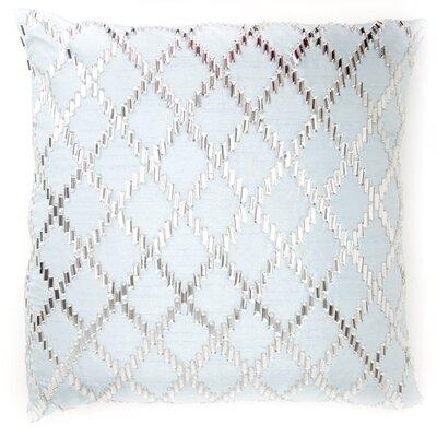 Bling Crystal Diamond Throw Pillow Color: Light Blue