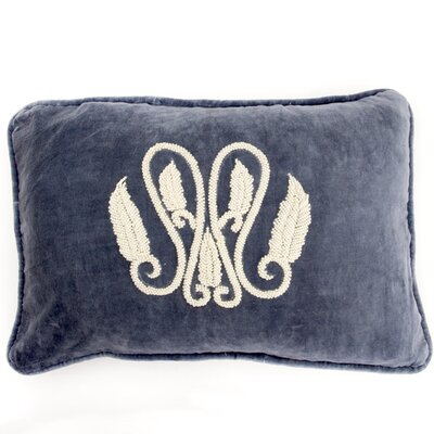 Global Throw Pillow Color: Blue