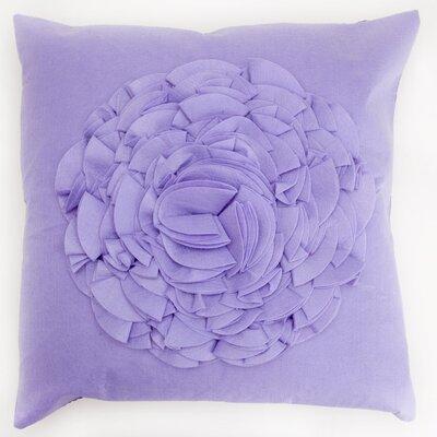 Crinkled Flower Throw Pillow (Set of 2)
