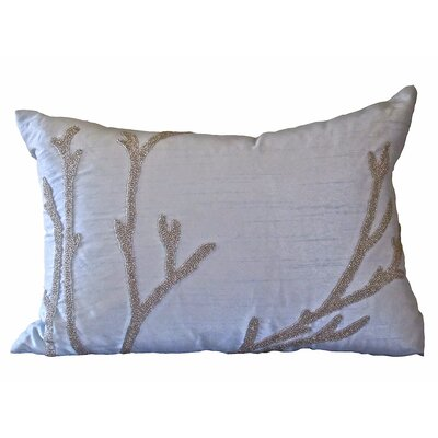 Bling Reef Lumbar Pillow Color: Soft Blue