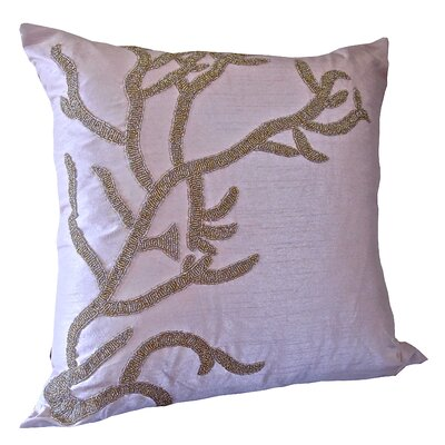 Bling Reef Throw Pillow Color: Light Pink