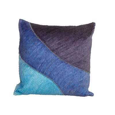 Sea Side Pleated Throw Pillow