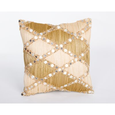 Sea Side Natural/Organic Throw Pillow