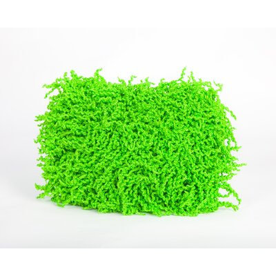 Debage Inc. Summer Fringe Outdoor Lumbar Pillow - Color: Green