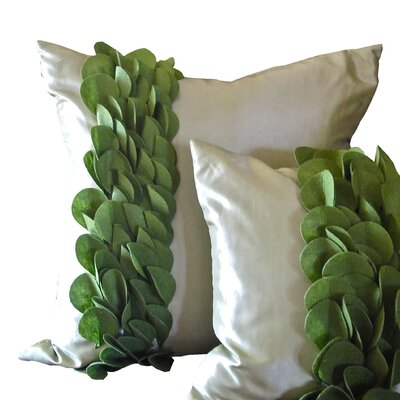 Breezy Wave Throw Pillow