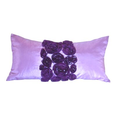 Spring Flower Lumbar Pillow Color: Purple