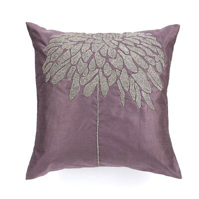 Coral Tree Throw Pillow Color: Plum