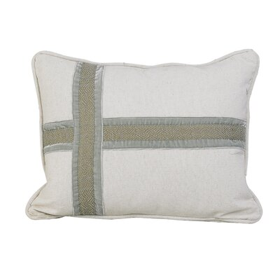 Dyanna Cross Design Lumbar Pillow