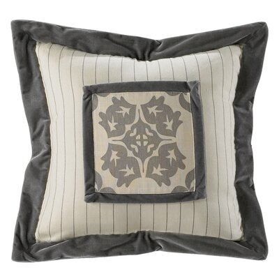 Almerton Stripe Embroidery Throw Pillow
