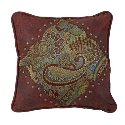 Idris Paisley Throw Pillow